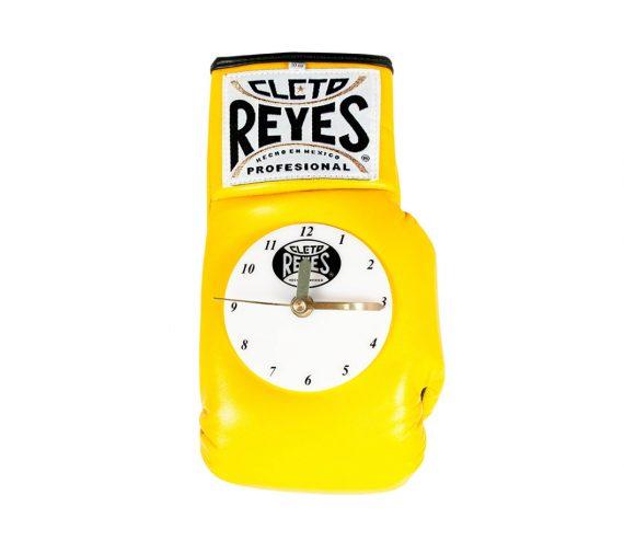Cleto-Reyes-boxing-glove-clock-yellow