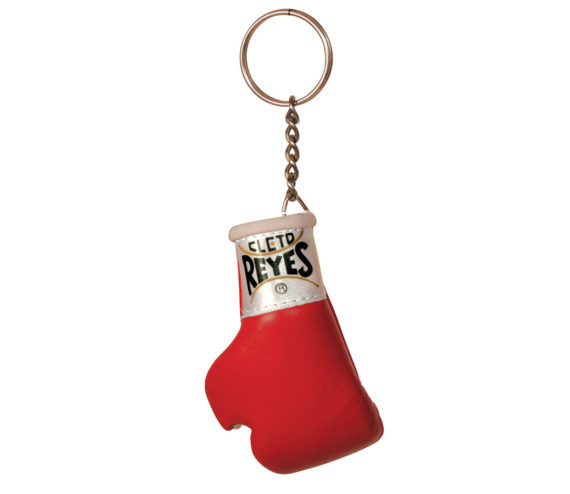 Cleto-Reyes-glove-key-ring-red