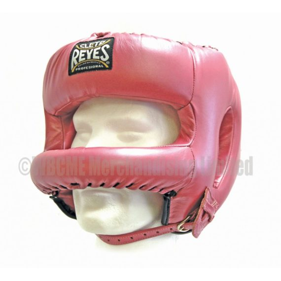 Traditional Cleto Reyes Headguard with Nylon round face bar