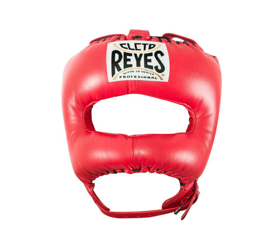 Cleto-Reyes-Headguard-with-Nylon-Pointed-Face-Bar-