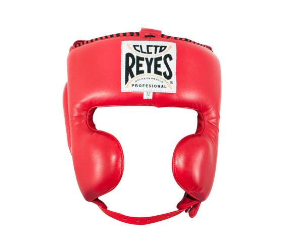 cleto-reyes-headguard-yellow-cheek-protectors