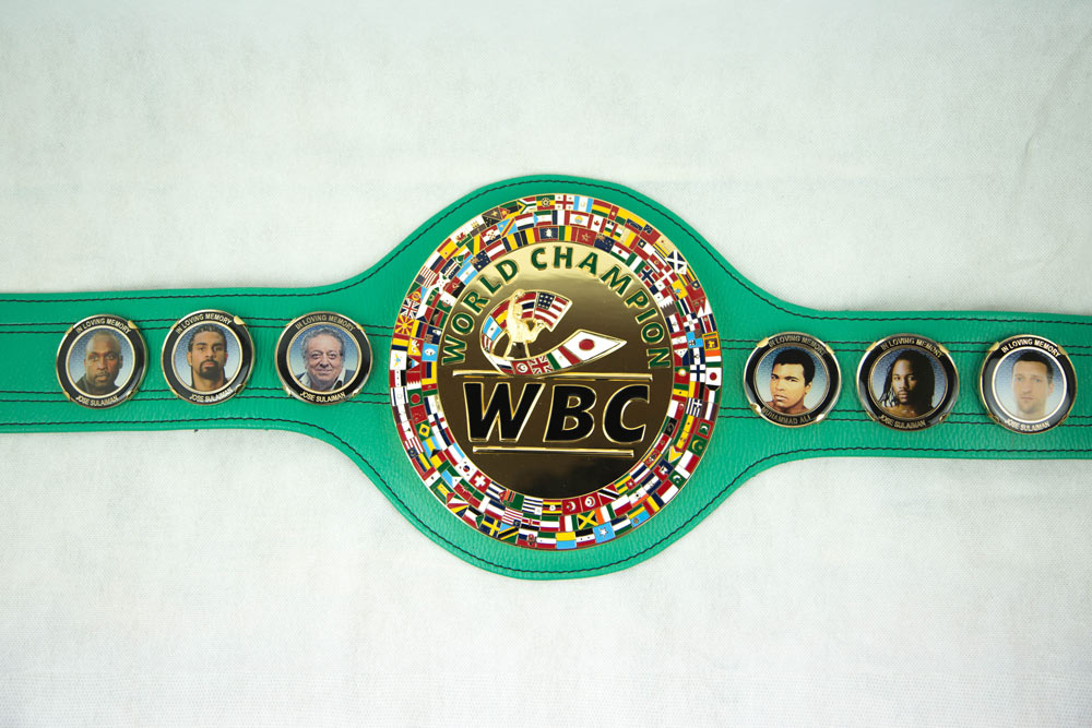 official gold plated wbc championship belt replica wbcme