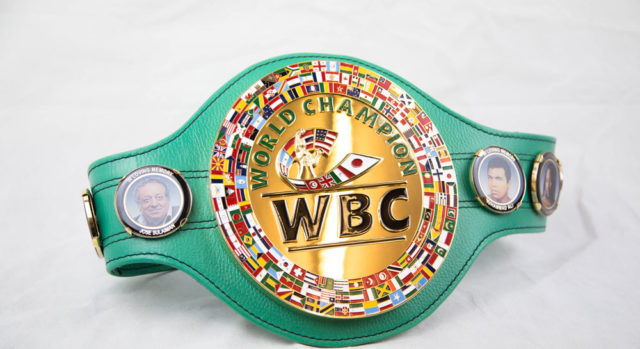 WBC to design a unique WBC belt for the Pacquiao Vs Mayweather fight