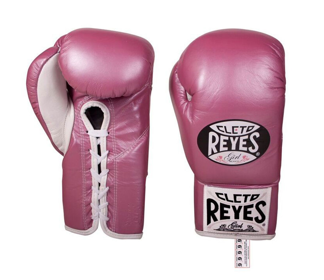 Cleto Reyes Women's Pink Traditional Contest gloves
