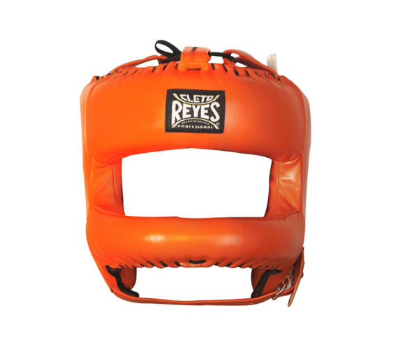 Orange-Cleto-Reyes-Nylon-Rounded-Bar-Headguard