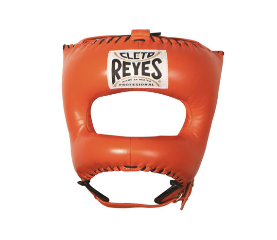 Orange-Cleto-Reyes-Nylon-Pointed-Bar-Headguard