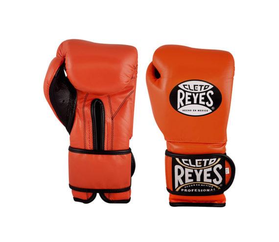 Orange-Cleto-Reyes-Velcro-Sparring-gloves