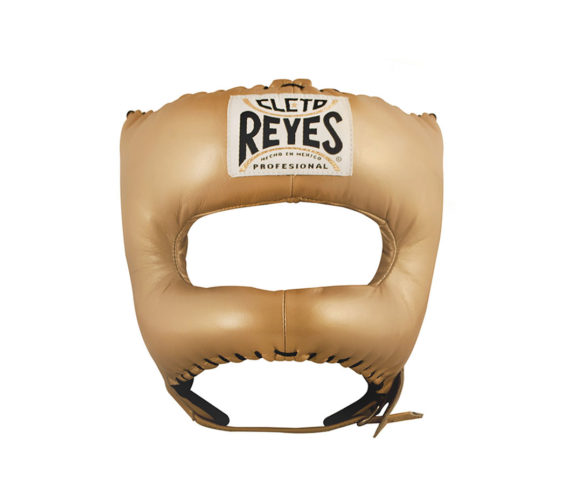 Gold-Cleto-Reyes-Headguard-with-Nylon-pointed-face-bar