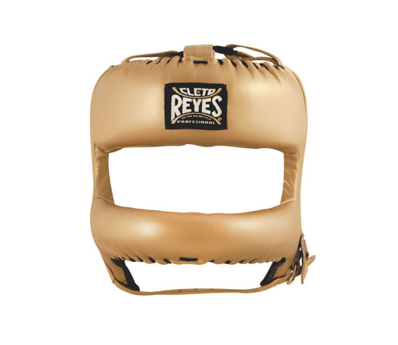 Gold-Cleto-Reyes-Headguard-with-Nylon-rounded-face-bar