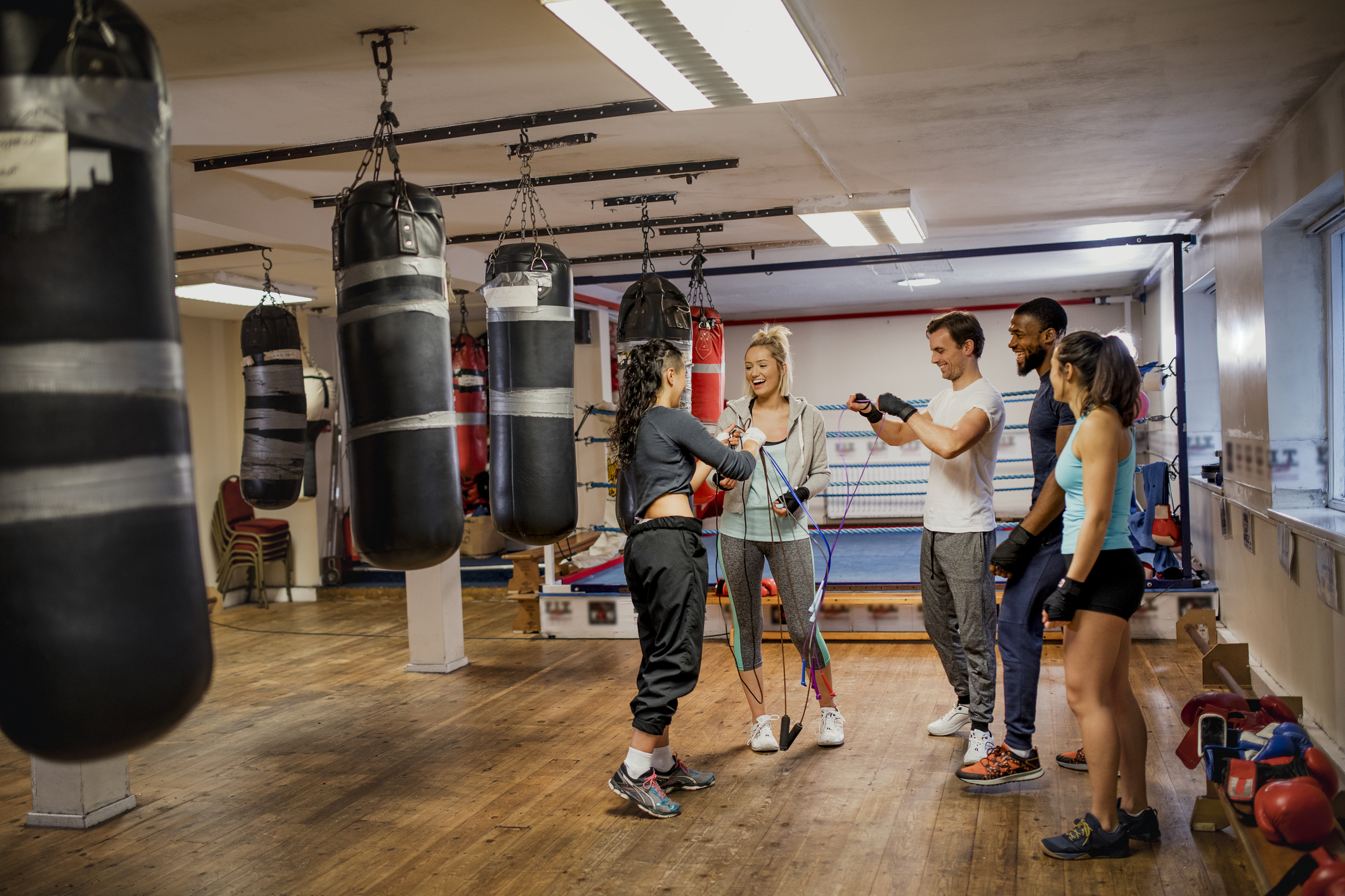 Boxing Styles, Training