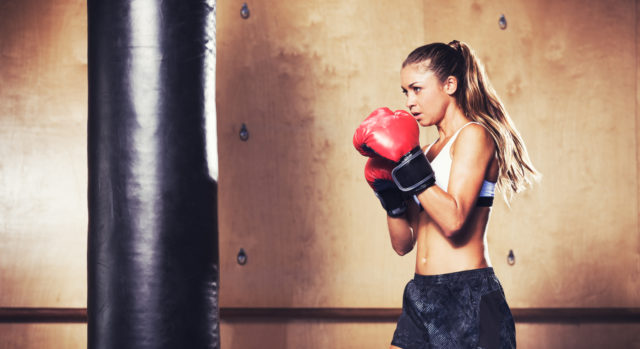 Beginners level boxing workouts for women