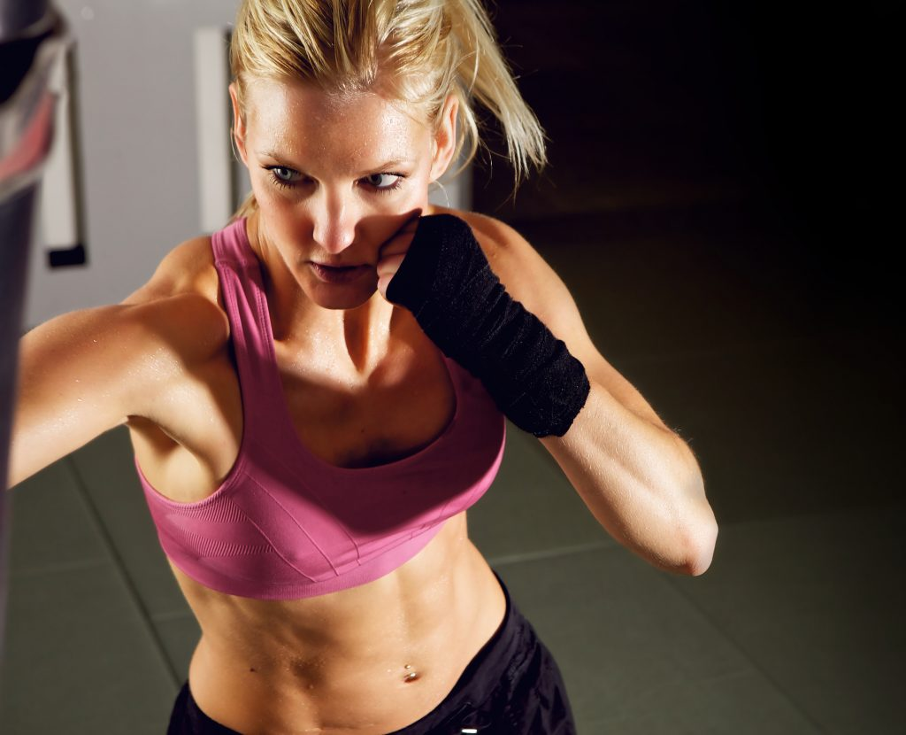 Boxing Workouts for Women, Training