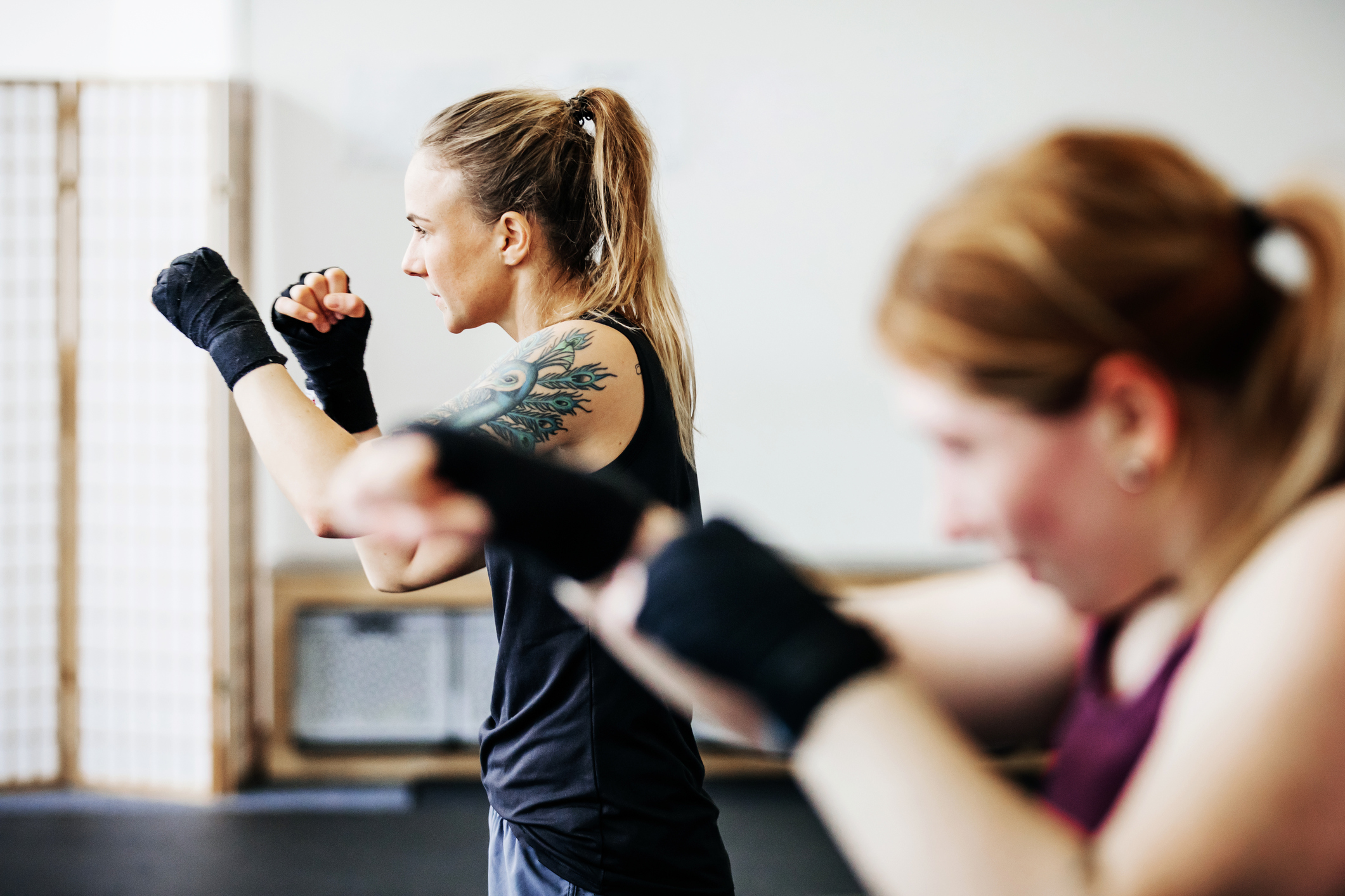 Boxing Workouts for Women, Without Equipment