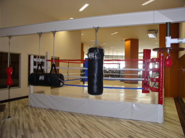 Good Boxing Gym, Reyes Equipment