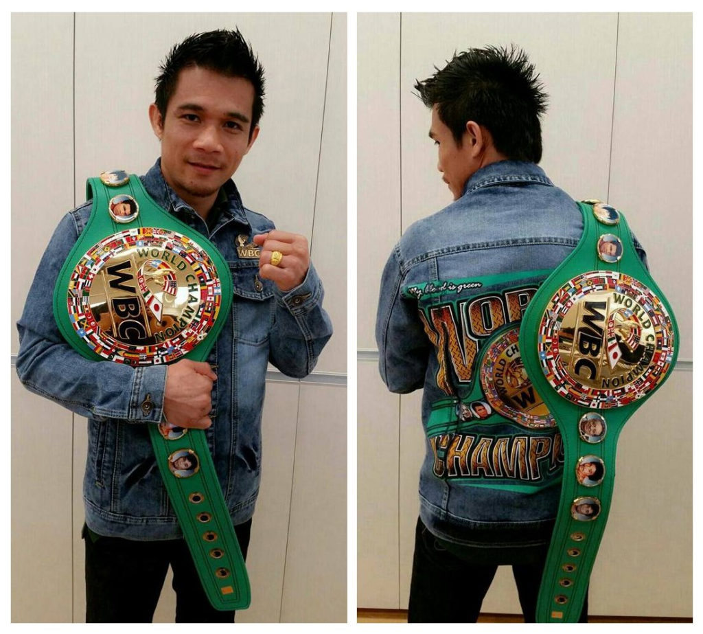 WBC Belt, Champion