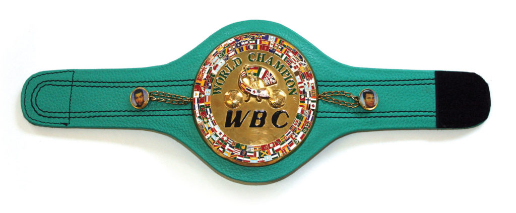 WBC Belt, Green Belt
