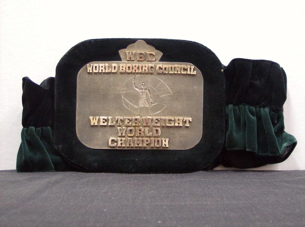 WBC Belt, Welterweight