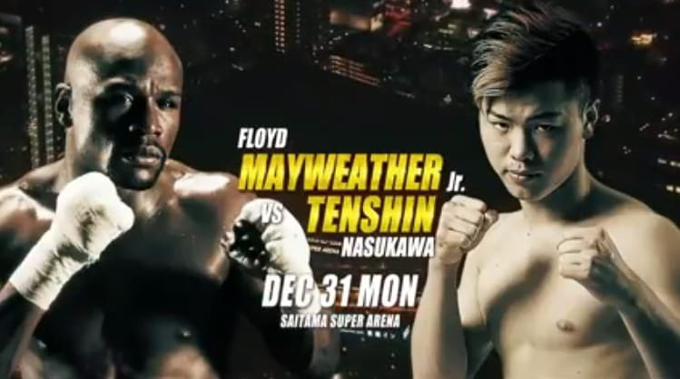 Mayweather VS Tensin Fight
