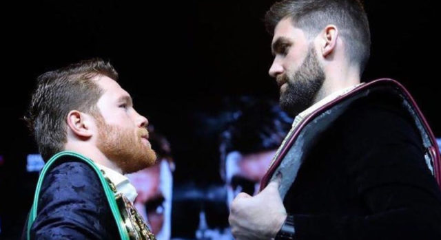 Canelo Punishes Rocky in Three Round Knockout