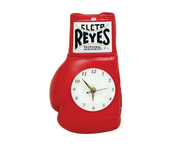 Product shot of Cleto Reyes Wall clock - red