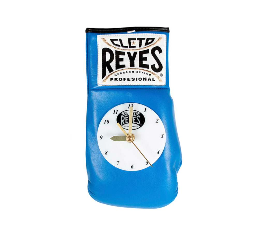 Product shot of Cleto Reyes Wall clock - blue