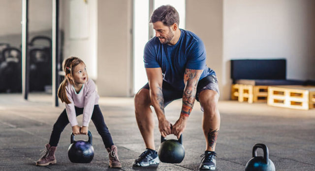 Keep the Family Fit with a Home Workout for Kids and Adults