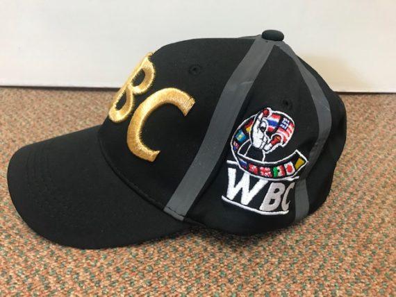 World Boxing Council Black Logo Cap