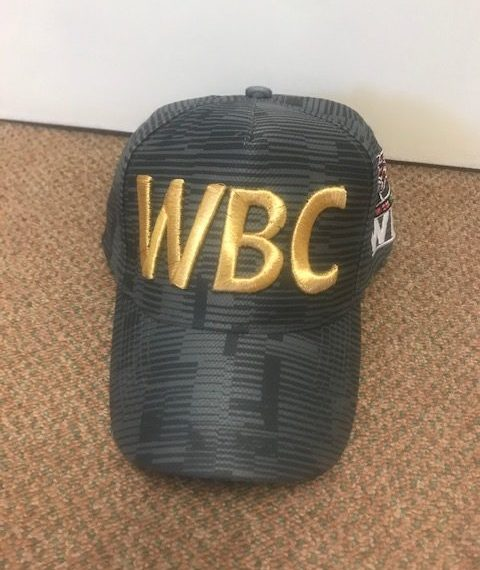 World Boxing Council Dark Grey logo Cap