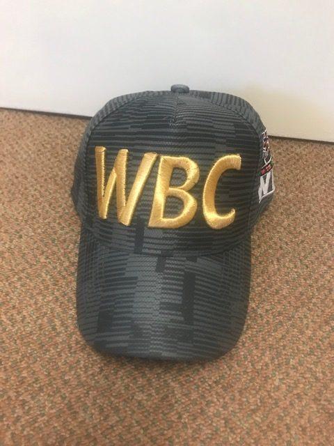 World Boxing Council Dark Grey logo Cap