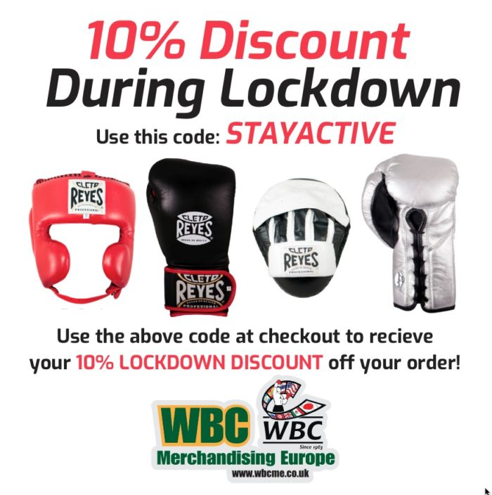 10% Discount During Lockdown