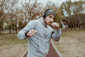 Running for boxing