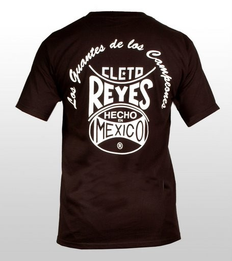Cleto Reyes black logo T-shirt