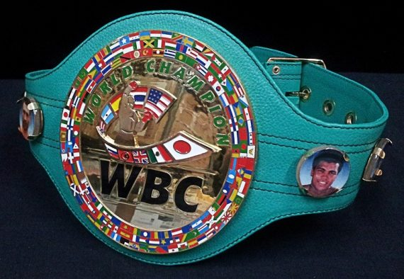 Official Replica full size WBC Championship belt – Economy version