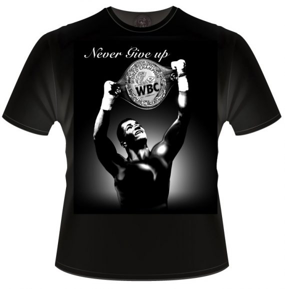 WBC 'Never give up' T-shirt