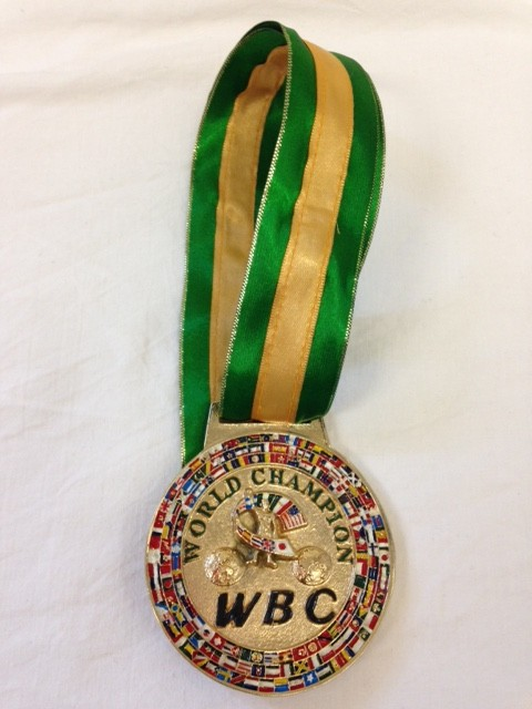 WBC World Champion Medal