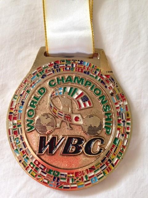 WBC 50th Anniversary medal
