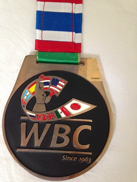 WBC 2013 Convention medal