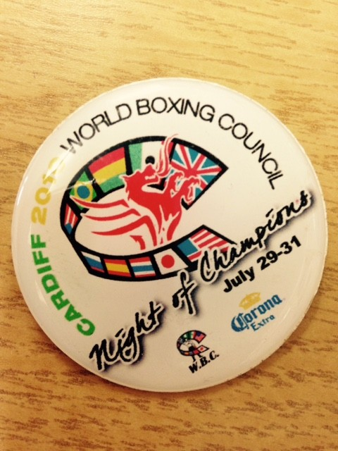 WBC Night of Champions badge