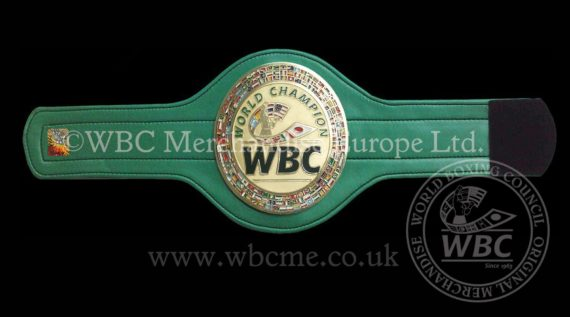 Official WBC Mini Replica Championship belt – Economy version