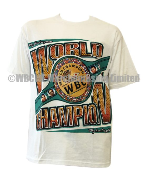 World Boxing Council 2015 Championship belt T-shirt