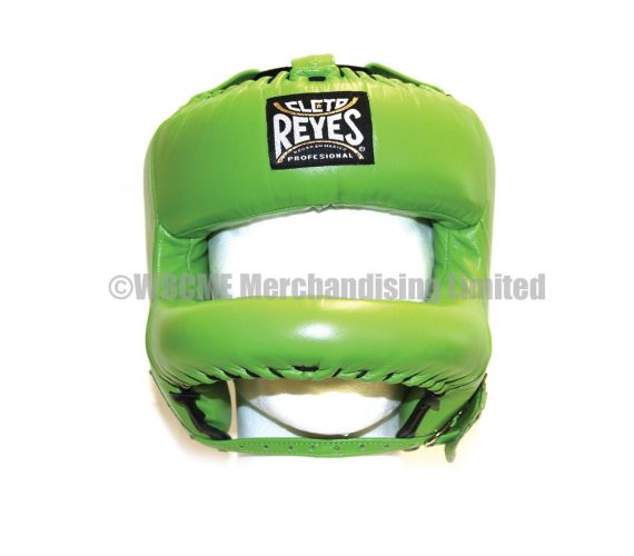 Green Cleto Reyes Headguard with Rounded face bar
