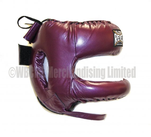 Purple Cleto Reyes  Headguard with Rounded face bar